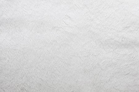 fur: Close up of fluffy white fur texture Stock Photo