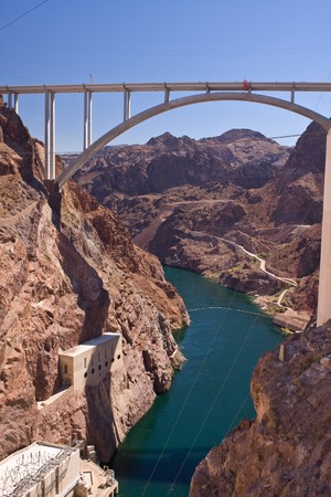 Hoover Dam bypass - Mike OCallaghan - Pat Tillman Memorial Bridge photo