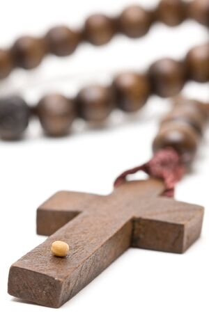 Rosary with mustard seed - symbol of faith Stock Photo - 9424681