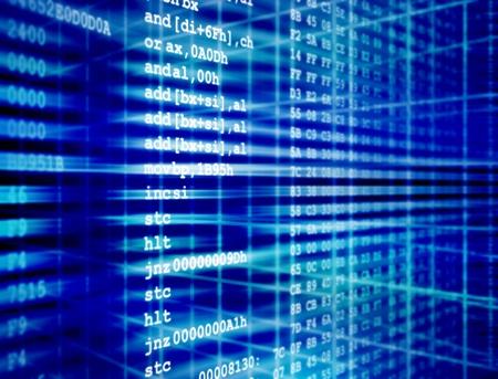 Assembler-Code Computerprogramms mit hexadezimalen Quelle