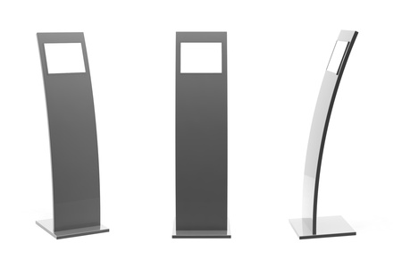Information terminal; Point-of-sale  POS  or Point-of-information  POI  kiosk