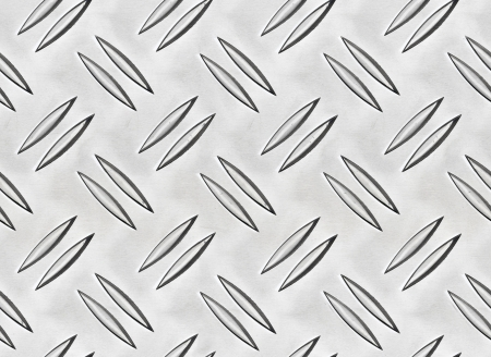 Steel checker plate texture - seamless repeatable photo