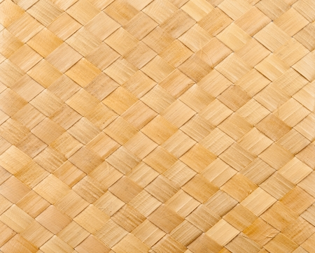 Bamboo reed close up woven texture pattern photo