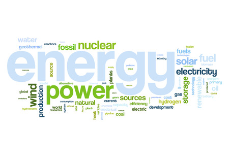 alternative energy sources: Fossil and alternative energy sources word cloud