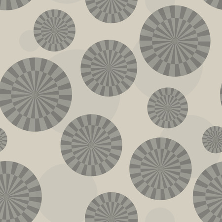 tinted: Abstract sunray circle pattern monochrome brown tinted - seamless repeatable