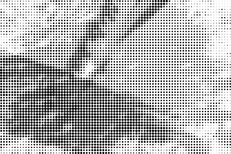 distressed: Grunge distressed halftone brushstrokes background