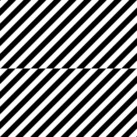 Diagonal black wide lines pattern background. Illustration isolated on white.