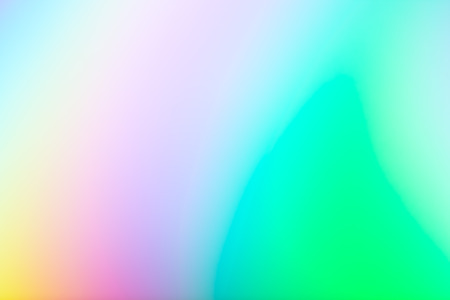 Rainbow multi-colored holographic foil abstract blurry background element