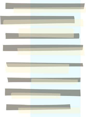 Beige, blue and grey abstract modern rectangle stripes pattern Standard-Bild