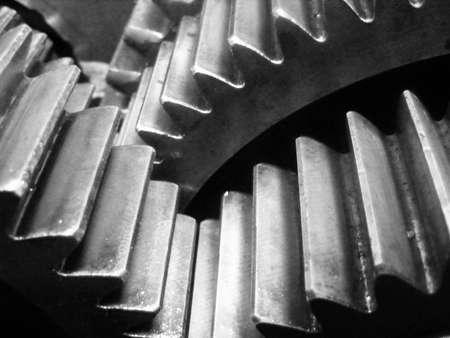 gearbox: Gearbox internal workings Stock Photo