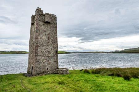 Kildavnet on Achill Island County Mayo in Ireland