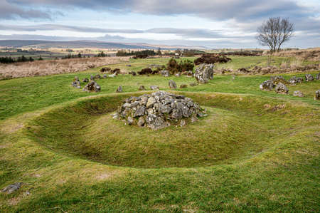 Beaghmore Stone Circles County Tyrone, Northern Ireland
