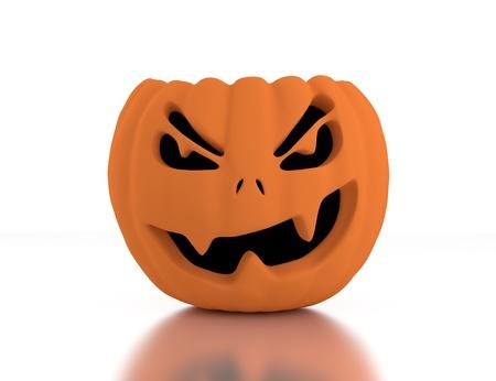 3d Jack O Lanterns, Halloween Stock Photo - 14736754