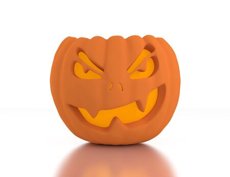 3d Jack O Lanterns, Halloween photo