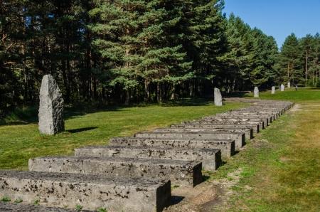 Treblinka rail monument
