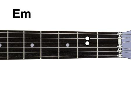 chords: Guitar Chords Diagrams - Em. Guitar chords diagrams series.