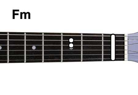 chords: Guitar Chords Diagrams - Fm. Guitar chords diagrams series.
