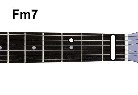 Guitar Chords Diagrams - FM7. Accords de guitare de la s�rie des diagrammes.