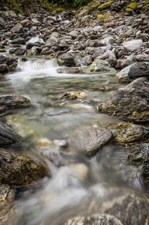 A shallow stream in the wild Standard-Bild
