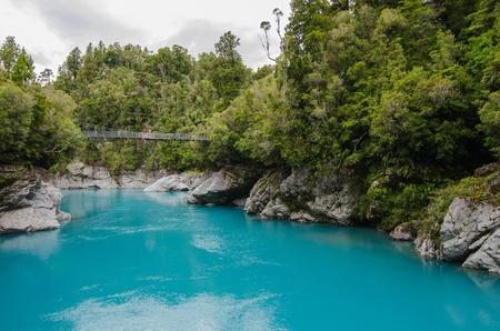 Hokitika Gorge, Hokitika, New Zealand Standard-Bild