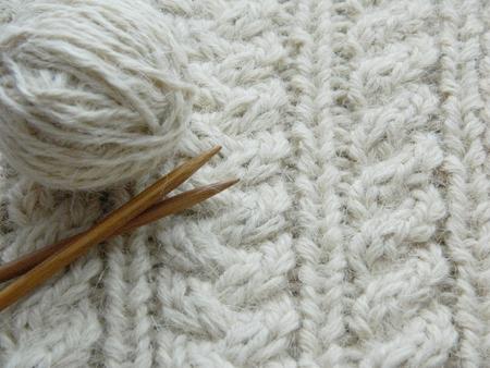 Resumen Textura De Tejido De Punto Suave Con Un Patrón En Forma De ...