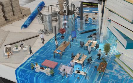 建築士事務所拡張現実の設計