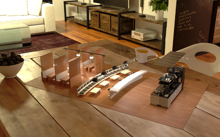 Restaurant Augmented Reality Design Kitchen