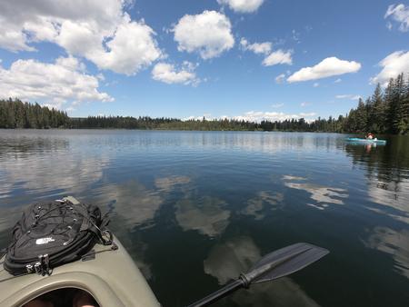 Kayak adventures Imagens