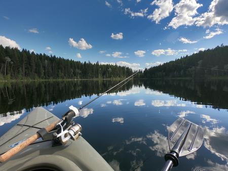 Kayak Fishing Imagens