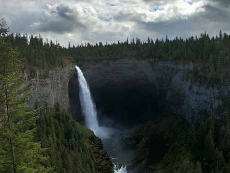 Towering Waterfall