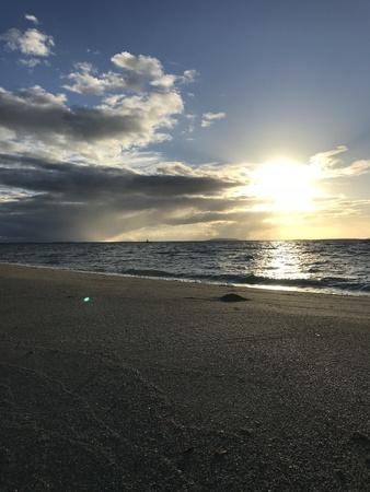 Sandbar at sunrise