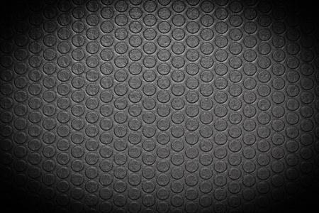 mat: Black yoga mat with vignette