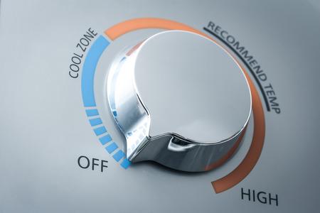 adjuster: temperature adjuster of water heater
