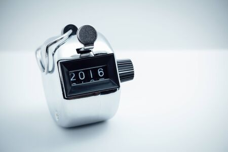 new year counter: tally counter show digit 2016  new year 2016
