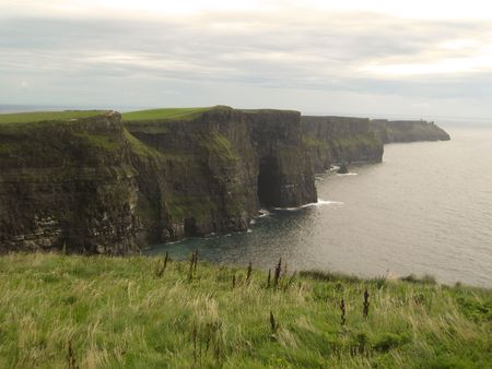 A magnificent view of the Cliffs of Moher, Ireland Stock Photo