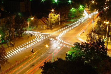 City at night: lighting