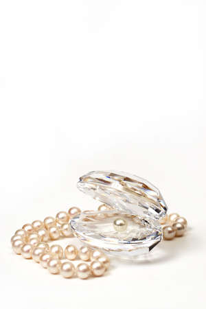 Shell & beautiful beads with pearls