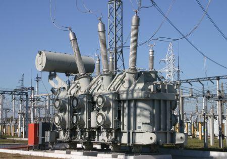 amperage: Power equipment Stock Photo