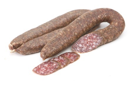 sudzhuk - one of the traditional sausage from the Turkic peoples photo