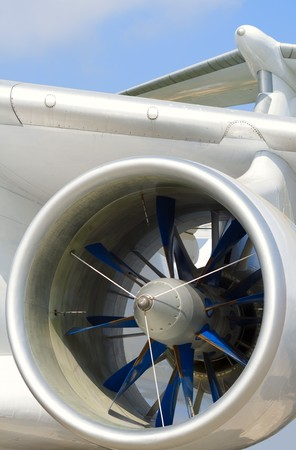 experimental aircraft turbo-prop engine Stock Photo - 8028389