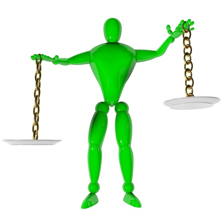 weigher: Imbalance Stock Photo