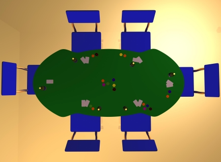 a plan view of gambling photo