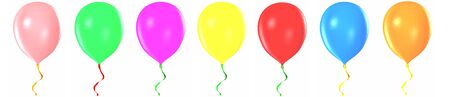 Multicolored balloons Stock Photo - 19401755