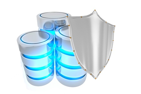 Database security Stock Photo