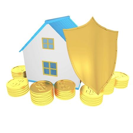 home Insurance Stock Photo - 21695434