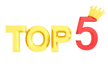 isolated top 3d