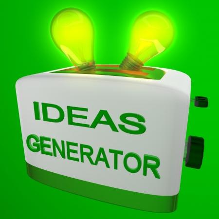 generator of ideas