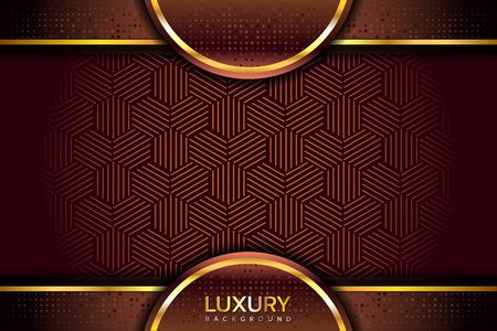 Luxurious golden brown background Vetores