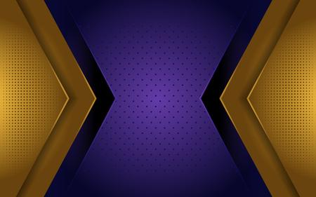 luxury gold and purple elegant background