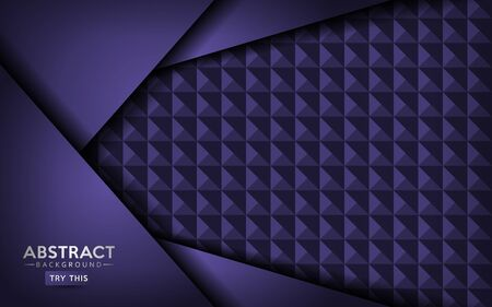 Luxurious abstract dark purple background design. Background template designs.
